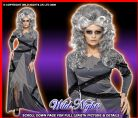 HALLOWEEN FANCY DRESS # LADIES GOTHIC BRIDE MED 12-14